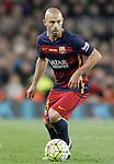 FC Barcelona's Javier Mascherano during La Liga match. April 2,2016. (ALTERPHOTOS/Acero)