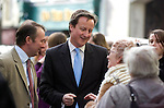 David Cameron, the Conservative Party leader visits Carmarthen today to meet local businesses during his visit to South Wales today..