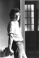 Alessandro Baricco è uno scrittore; romanziere; critico musicale, conduttore televisivo italiano, libri, cultura italiana. Torino 10 maggio 1990. Photo by Leonardo Cendamo/Gettyimages