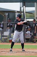 Chicago White Sox outfielder Alex Destino (28) at bat during an Instructional League game against the San Diego Padres on September 26, 2017 at Camelback Ranch in Glendale, Arizona. (Zachary Lucy/Four Seam Images)