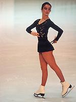 Claudia Wood of Austria competes at the 1981 Skate Canada in Ottawa, Canada. Photo copyright Scott Grant.