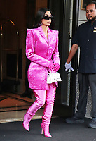 NEW YORK, NY- October 07: Kim Kardashian-West seen leaving her hotel to Saturday Night Live rehearsals in New York City on October 07, 2021 <br /> CAP/MPI/RW<br /> ©RW/MPI/Capital Pictures<br /> CAP/MPI/RW<br /> ©RW/MPI/Capital Pictures