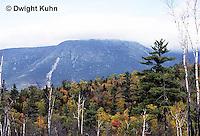 BX01-002a  Baxter State Park,  Maine - Katahdin Mt. Range