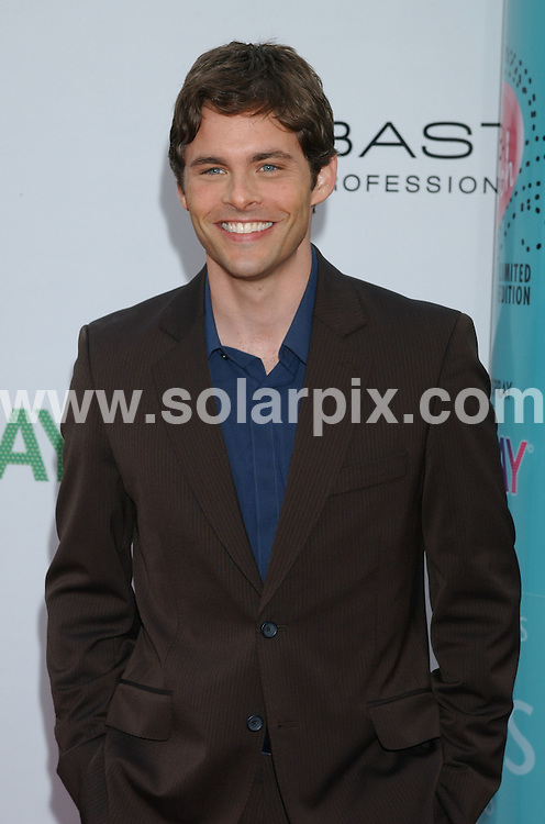 **ALL ROUND PICTURES FROM SOLARPIX.COM**.**WORLDWIDE SYNDICATION RIGHTS EXCLUDING - FRANCE** .The premiere of the film, Hairspray in Westwood, Ca, USA. at the Village Theater on July 10, 2007..This pic: James Marsden..JOB REF:   4246    GLS       DATE: 11_07_2007.**MUST CREDIT SOLARPIX.COM OR DOUBLE FEE WILL BE CHARGED* *UNDER NO CIRCUMSTANCES IS THIS IMAGE TO BE REPRODUCED FOR ANY ONLINE EDITION WITHOUT PRIOR PERMISSION*