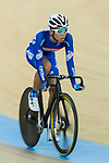 Ho Kin Ming of the Cyclone competes in Men Junior - Omnium I Scratch 7.5KM during the Hong Kong Track Cycling National Championship 2017 on 25 March 2017 at Hong Kong Velodrome, in Hong Kong, China. Photo by Chris Wong / Power Sport Images