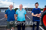 Supporting the Vintage Tractor Run on Sunday in Ballyduff. L to r: Jimmy Slattery, Joe Joe Condon and Paddy Sugrue