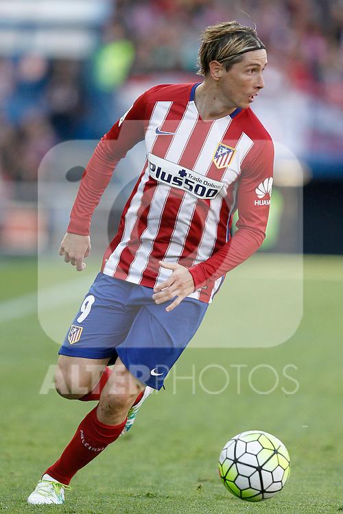 Atletico de Madrid's Fernando Torres during La Liga match. April 23,2016. (ALTERPHOTOS/Acero)