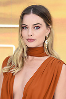 """LONDON, UK. July 30, 2019: Margot Robbie at the UK premiere for """"Once Upon A Time In Hollywood"""" in Leicester Square, London.<br /> Picture: Steve Vas/Featureflash"""