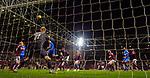 29.02.2020 Hearts v Rangers: George Edmundson heads over