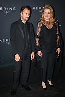 Anthony Vaccarello et Catherine Deneuve en photocall avant la soiréee Kering Women In Motion Awards lors du soixante-dixième (70ème) Festival du Film à Cannes, Place de la Castre, Cannes, Sud de la France, dimanche 21 mai 2017. Philippe FARJON / VISUAL Press Agency