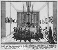 Ouverture du Congrès d'Utrecht, 29 janvier 1712.