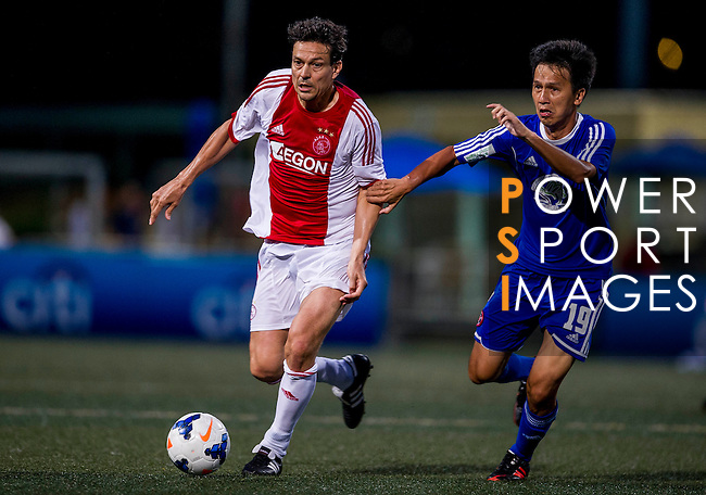 AEGON Ajax All Stars vs Eastern Salon Original during the Day 2 of the HKFC Citibank Soccer Sevens 2014 on May 24, 2014 at the Hong Kong Football Club in Hong Kong, China. Photo by Victor Fraile / Power Sport Images