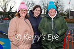 Enjoying the playground in the Listowel town park on Friday, l to r: Sharon Hickey, Eveleen and Sheila O'Connell.