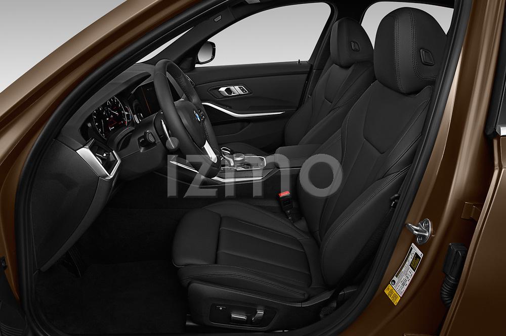 Front seat view of a 2019 BMW 3-Series  Sport 4 Door Sedan front seat car photos