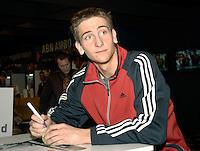 22-2-07,Tennis,Netherlands,Rotterdam,ABNAMROWTT,  Autograph session with Thiemo de Bakker