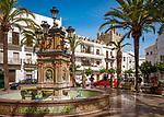 Spanien, Andalusien, Provinz Cádiz, Vejer de la Frontera: Plaza | Spain, Andalusia, Province Cádiz, Vejer de la Frontera: square