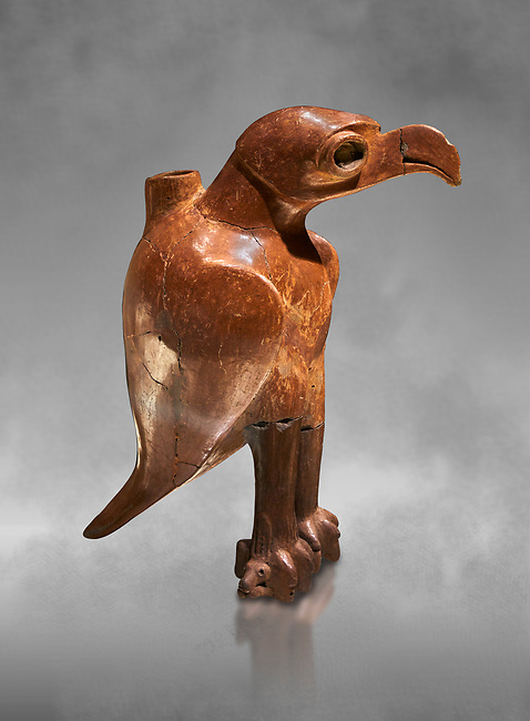 Bronze Age Anatolian eagle shaped ritual vessel - 19th to 17th century BC - Kültepe Kanesh - Museum of Anatolian Civilisations, Ankara, Turkey.