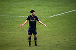 Carlos Vela of Los Angeles FC (USA) gestures during their CONCACAF Champions League Semi Finals match against Club America (MEX) at the Orlando's Exploria Stadium on 19 December 2020, in Florida, USA. Photo by Victor Fraile / Power Sport Images