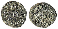 BNPS.co.uk (01202) 558833. <br /> Pic: Spink&Son/BNPS<br /> <br /> Pictured: This Northumbria, Eardwulf, First Reign (796-806), Sceat, sold for £8,400.  <br /> <br /> A finance director's remarkable collection of historic Anglo-Saxon coins has sold for a staggering £856,000.<br /> <br /> Tony Abramson, president of the Yorkshire Numismatic Society, started collecting aged four in the 1950s.<br /> <br /> His passion developed during his teenage years and he went to great lengths to bolster his collection in the decades that followed until it reached 1,200 coins.