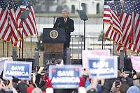 JAN 06 President Trump speaks to supporters regarding voter fraud claims