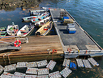 Lobster Holds, Saddlers Cove Dock On Sheepscot River