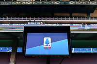 VAR, video assistant referee, monitor is seen during the Serie A football match between Bologna FC and AS Roma at Renato Dall'Ara stadium in Bologna ( Italy ), December 13th, 2020. Photo Andrea Staccioli / Insidefoto