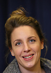 """Jessie Mueller during """"The Music Man"""" Media Day Rehearsal at the New 42nd Street Studios on January 24, 2019 in New York City."""