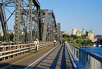 Bridge between Hull and  Ottawa