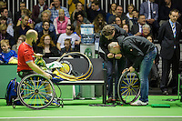 Rotterdam, The Netherlands, February 13, 2016,  ABNAMROWTT, Stefan Olsson (SWE)<br /> Photo: Tennisimages/Henk Koster