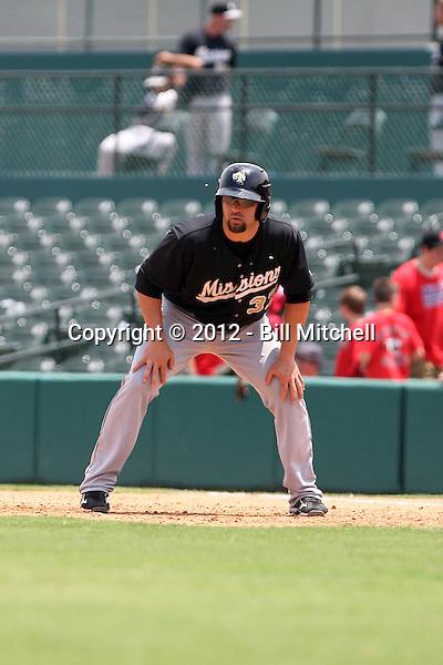 Jake Blackwood - 2012 San Antonio Missions (Bill Mitchell)
