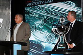 Art StCyr of Manufacturers' Champions Honda with Jay Frye of IndyCar