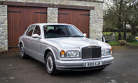 BNPS.co.uk (01202) 558833.<br /> Pic: HistoricsAuctioneers/BNPS<br /> <br /> A Rolls-Royce that former England manager Sir Bobby Robson treated himself to has sold for £26,000.<br /> <br /> Not known for his lavish lifestyle, Sir Bobby fulfilled a lifelong dream by buying the 1998 Silver Seraph luxury motor in 2007. <br /> <br /> The former Ipswich, Barcelona and Newcastle manager kept it until his death from cancer three years later.