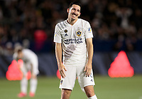 CARSON, CA - MARCH 07: Sacha Kljestan #16  of the Los Angeles Galaxy during a game between Vancouver Whitecaps and Los Angeles Galaxy at Dignity Health Sports Park on March 07, 2020 in Carson, California.
