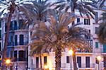 Hausfassade, Passeig Maritim, Palma de Mallorca