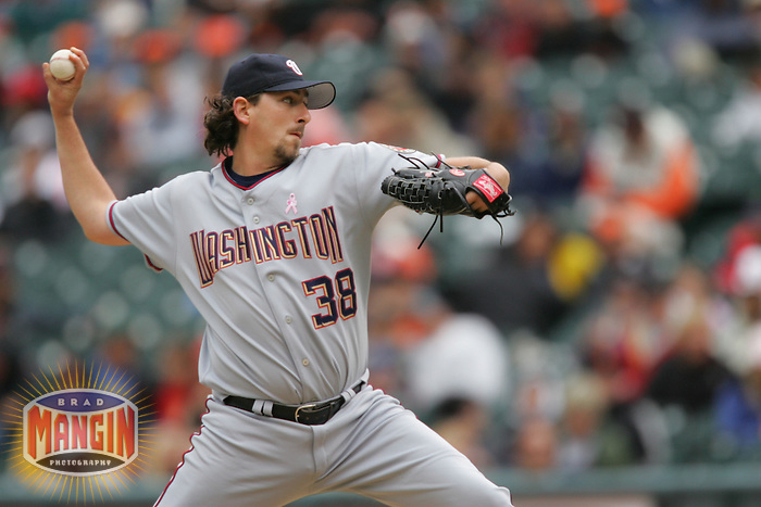 Gary Majewski. Baseball: Washington Nationals vs San Francisco Giants. San Francisco, CA 5/8/2005 MANDATORY CREDIT: Brad Mangin