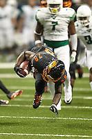 SAN ANTONIO, TX - OCTOBER 29, 2016: The University of Texas at San Antonio Roadrunners defeat the North Texas University Mean Green 31-17 at the Alamodome. (Photo by Jeff Huehn)