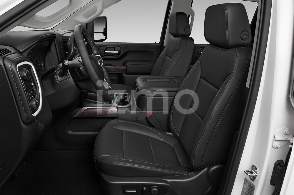 Front seat view of 2020 Chevrolet Silverado-3500 LTZ 4 Door Pick-up Front Seat  car photos