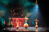 Montreal based CIRQUE DU SOLEIL preview their new show KOOZA, April 11, 2007<br />