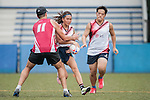 JLL vs Linklaters during the Cup Semi Final part of Swire Touch Tournament on 03 September 2016 in King's Park Sports Ground, Hong Kong, China. Photo by Marcio Machado / Power Sport Images