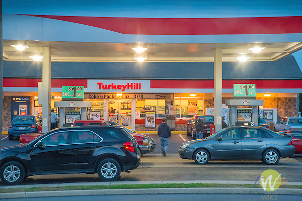 Turkey Hill Convenience Market and Gas, Duboistown, PA.
