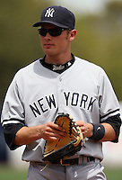 April 3, 2010:  Infielder Bradley Suttle of the New York Yankees playing in the annual Futures Game during Spring Training at Legends Field in Tampa, Florida.  Photo By Mike Janes/Four Seam Images