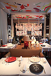 Newly opened Le Royal Monceau Raffles Paris decorated by Philippe Starck. Paris. France