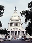 CS-BH24  United States Capitol, Washington DC, July 1969.