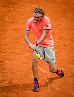 Paris, France, 01 June, 2018, Tennis, French Open, Roland Garros, Alexander Zverev (GER)<br /> Photo: Henk Koster/tennisimages.com