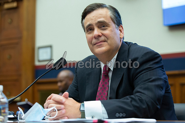 Jonathan Turley, Law Professor at George Washington University Law School, arrives to testify before the United States House Natural Resources Committee at the United States Capitol in Washington D.C., U.S., on Monday, June 29, 2020. Photo Credit: Stefani Reynolds/CNP/AdMedia