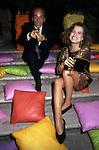 PRINCIPE ALESSANDRO  DADO  RUSPOLI CON CARMEN MANZANO<br /> JACKIE O' CLUB ROMA 1990