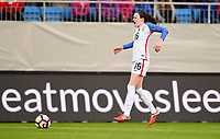 Sandefjord, Norway - June 11, 2017: Rose Lavelle during their game vs Norway in an international friendly at Komplett Arena.