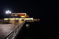 Cromer Pier by night, Cromer, Norfolk, UK