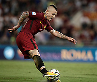 Calcio, Serie A: Roma, stadio Olimpico, 26 agosto, 2017.<br /> during the Italian Serie A football match between Roma and Inter at Rome's Olympic stadium, August 26, 2017.<br /> UPDATE IMAGES PRESS/Isabella Bonotto