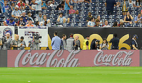 Houston, TX - Tuesday June 21, 2016: Sponsors prior to a Copa America Centenario semifinal match between United States (USA) and Argentina (ARG) at NRG Stadium.